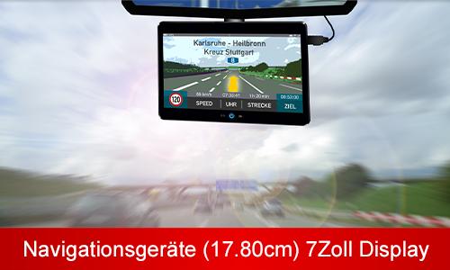 XL 7.0 Zoll (17,8cm) Touchscreen Display Navigationsgeräte