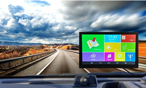 9.0 Zoll (22,8cm) Touchscreen Display Navigationsgeräte