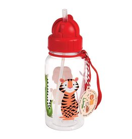 Rex London Kinder waterfles - Colourful Creatures