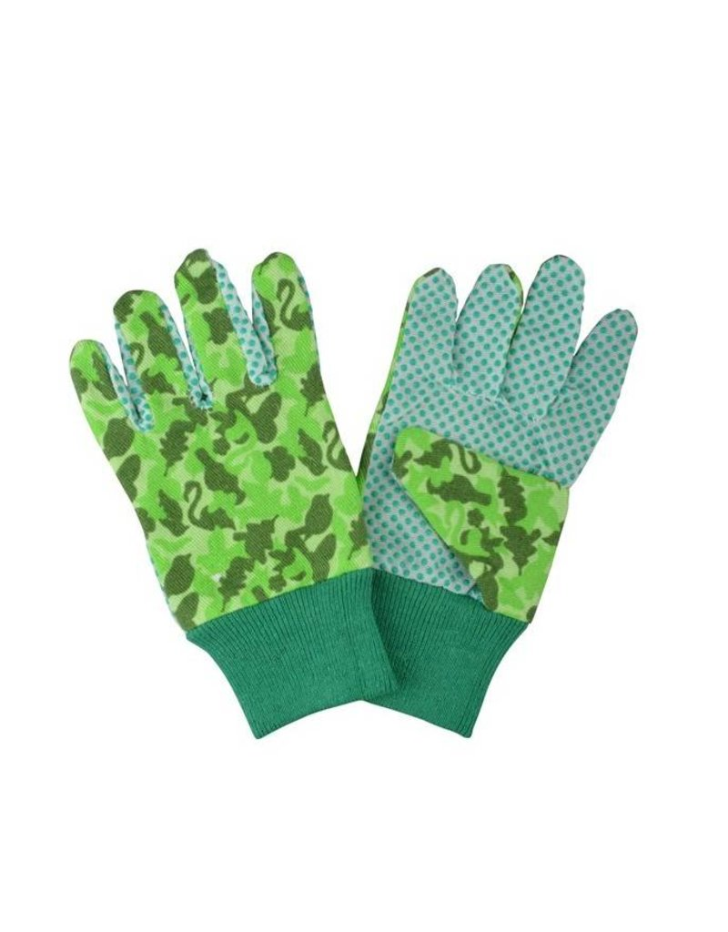 Esschert Design Tuinhandschoenen voor kinderen - camouflage print