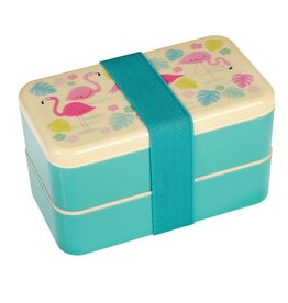 Rex London Bento Lunchbox XL - Flamingo Bay