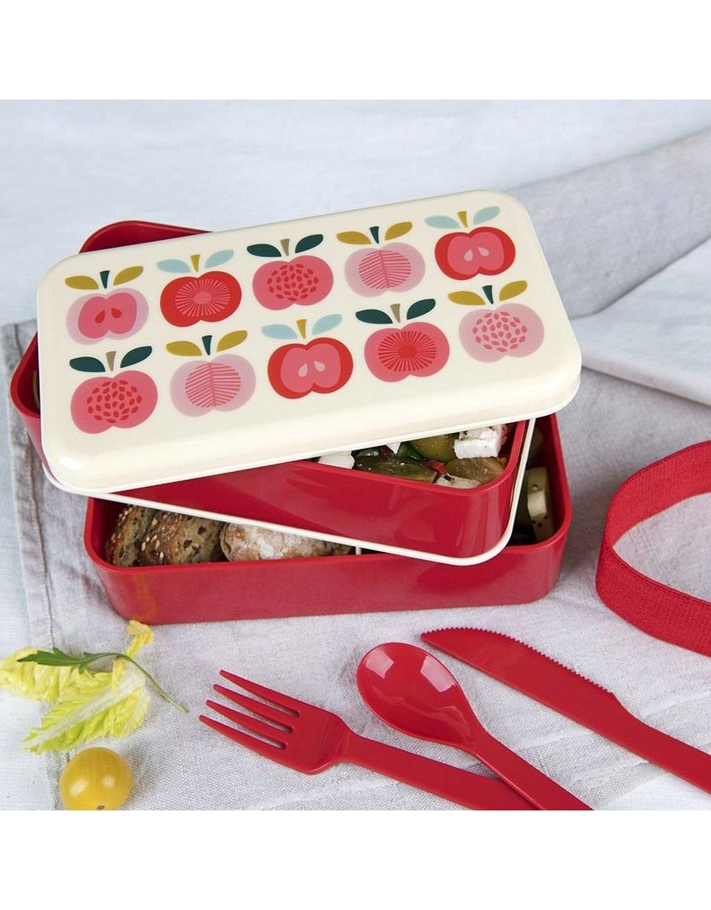 Rex London Bento Lunchbox XL - Vintage Apple