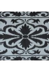 Esschert Design Balkontapijt 70x200 cm - zwart/wit
