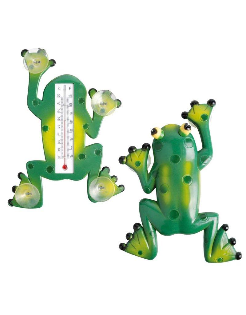 Esschert Design Raam thermometer kikker