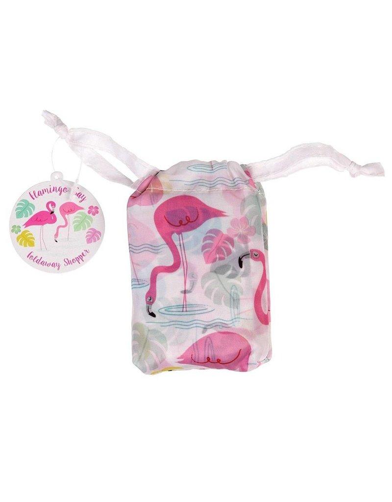 Rex London Opvouwbare tas - Flamingo Bay