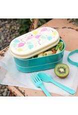 Rex London Bento lunch box - Flamingo Bay