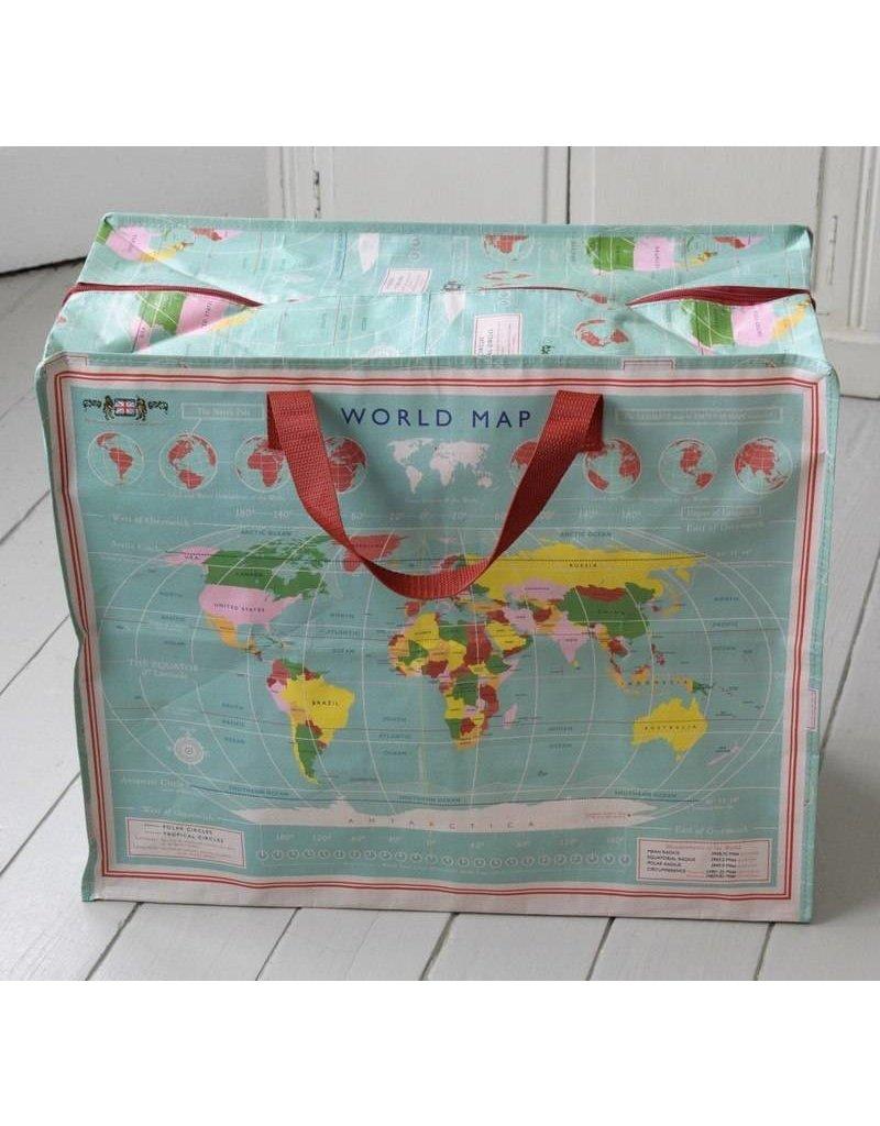 Rex London Big Shopper - Wereldkaart