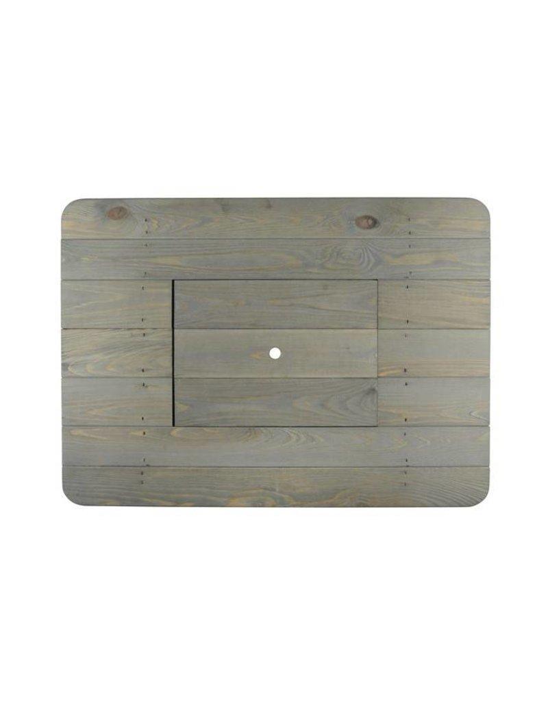 Esschert Design  Bierkrat tafel - hout