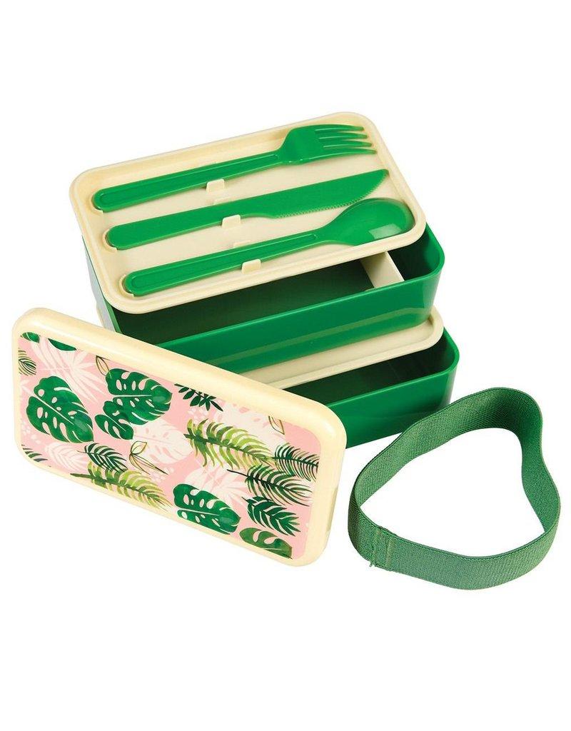 Rex London Bento Lunchbox XL - Tropical Palm