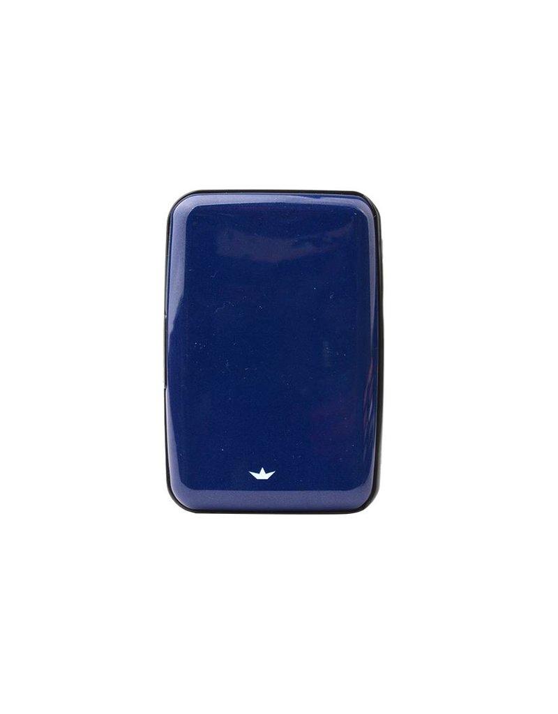 Dresz Aluminium kaarthouder - Hard - blauw