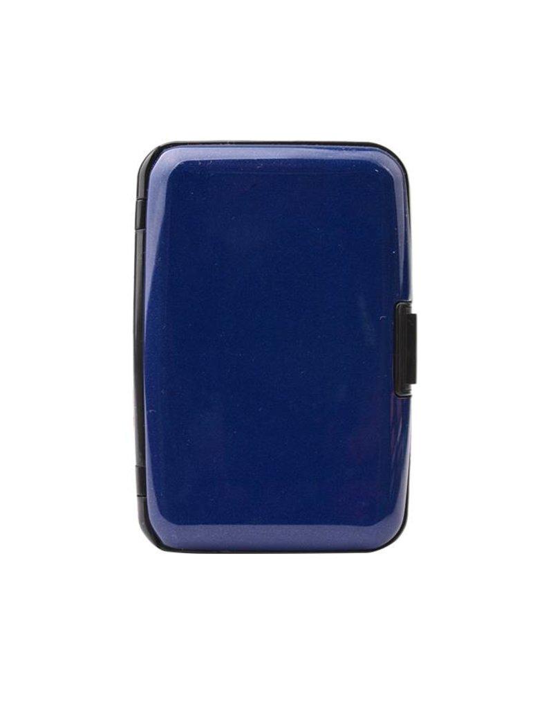 Dresz Aluminium kaarthouder - blauw