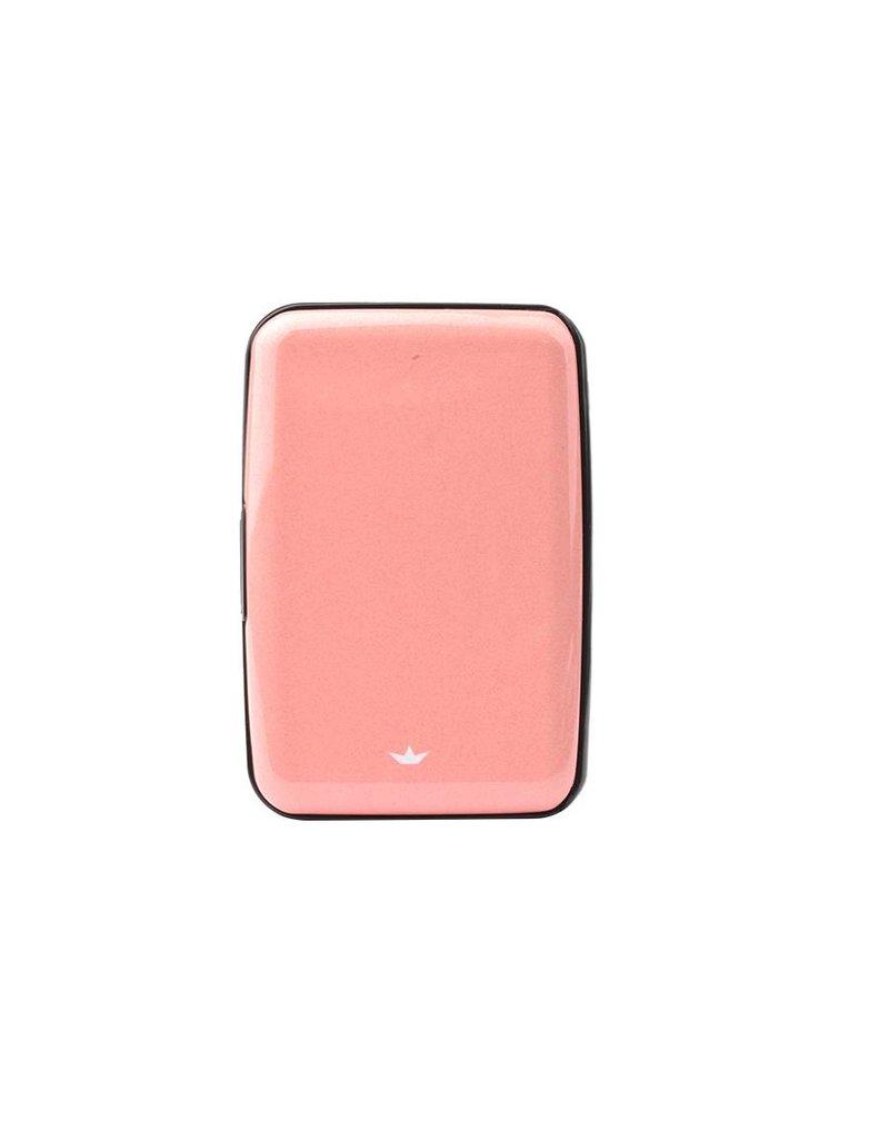 Dresz Aluminium kaarthouder - His-Hers - roze