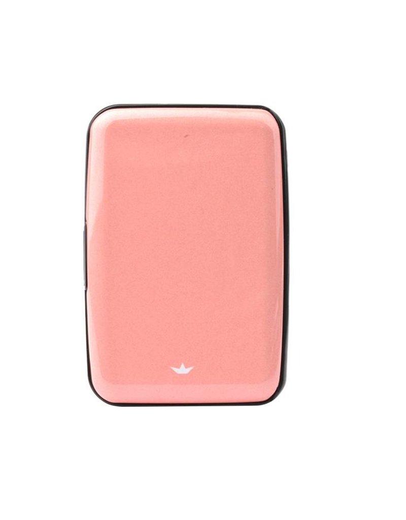 Dresz Aluminium kaarthouder - roze