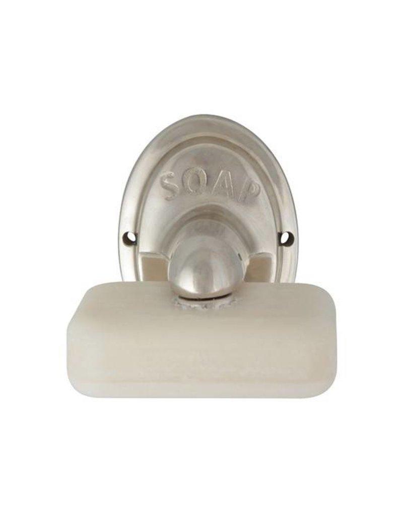 Esschert Design Zeephouder aluminium met zeep