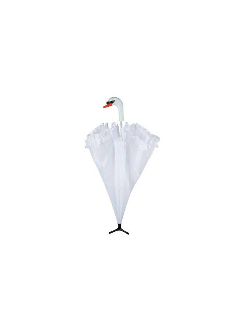 Esschert Design Paraplu - Zwaan met roesjes