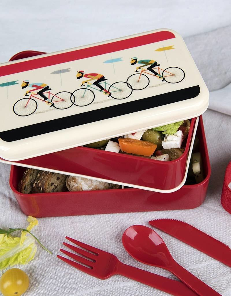 Rex London Bento Lunchbox XL - Bicycle