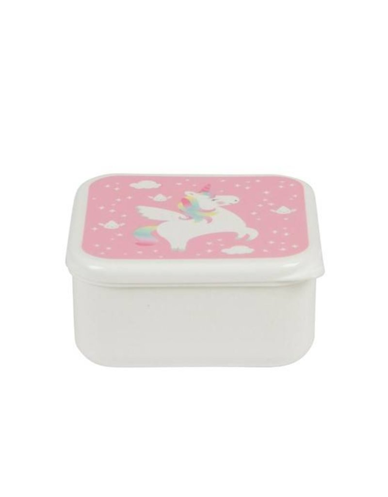 Sass & Belle Lunch box- Rainbow Unicorn