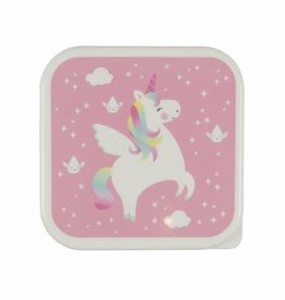 Sass & Belle Lunch box- Rainbow Unicorn