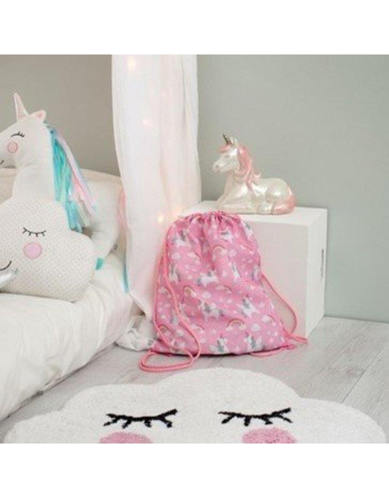 Sass & Belle Rugzakje trekkoord - Rainbow Unicorn