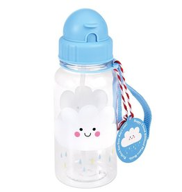 Rex London Kinder waterfles - Happy Cloud