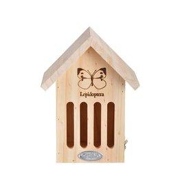 Esschert Design Vlinderkastje - Silhouet - hout