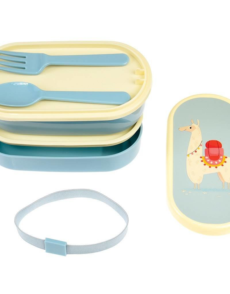 Rex London Bento lunch box - Llama