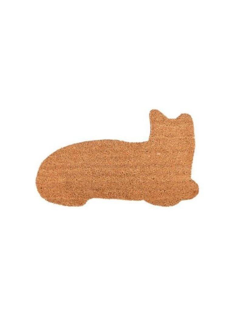 Esschert Design Deurmat kokos - Kat