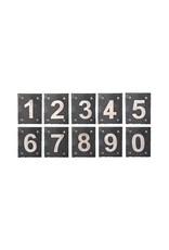 Esschert Design Huisnummer RVS - 0 t/m 9 arial