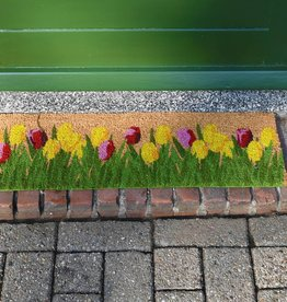 Esschert Design Deurmat kokos - Tulpen