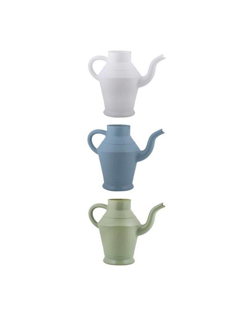 Esschert Design Kleine gieter - Vintage - plastic - WIT