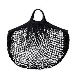 Esschert Design Net boodschappentas - zwart
