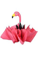 Esschert Design Paraplu - Flamingo - opvouwbaar