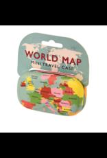 Rex London Reiskoffertje - Wereldkaart