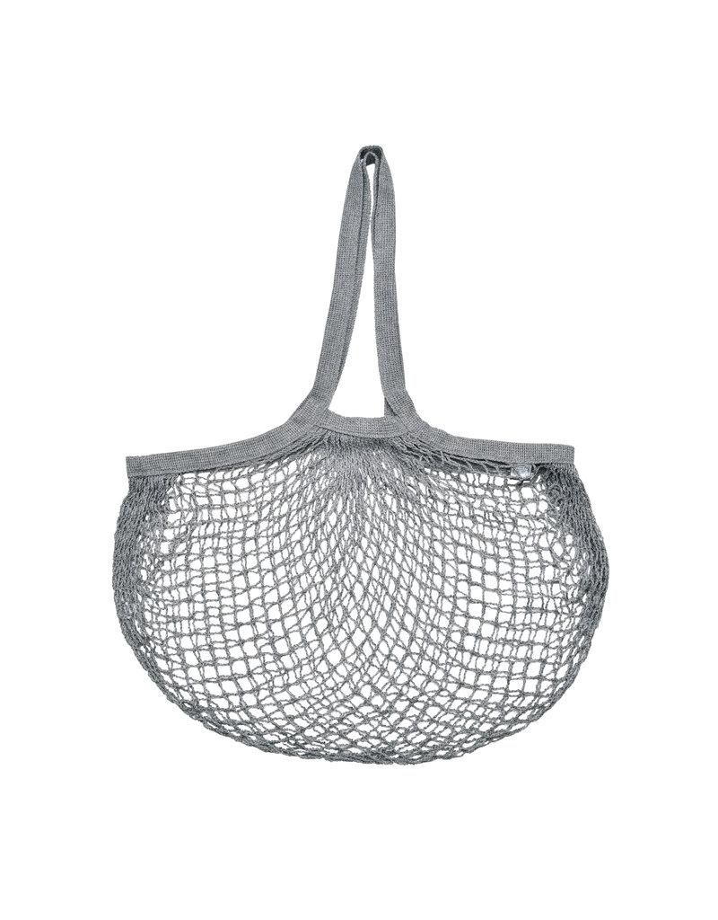 Esschert Design Net boodschappentas - met lang hengsel