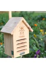 Esschert Design Lieveheersbeestjeskastje - Silhouet - hout