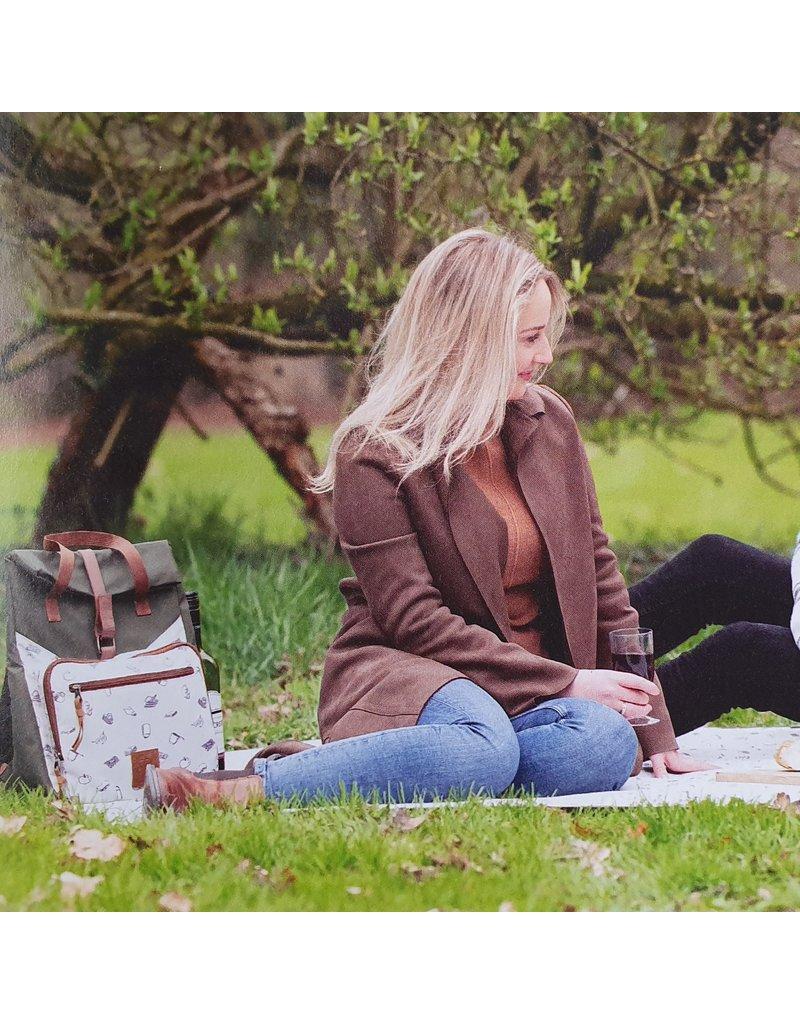 Esschert Design Picknick fietstas - 2 personen