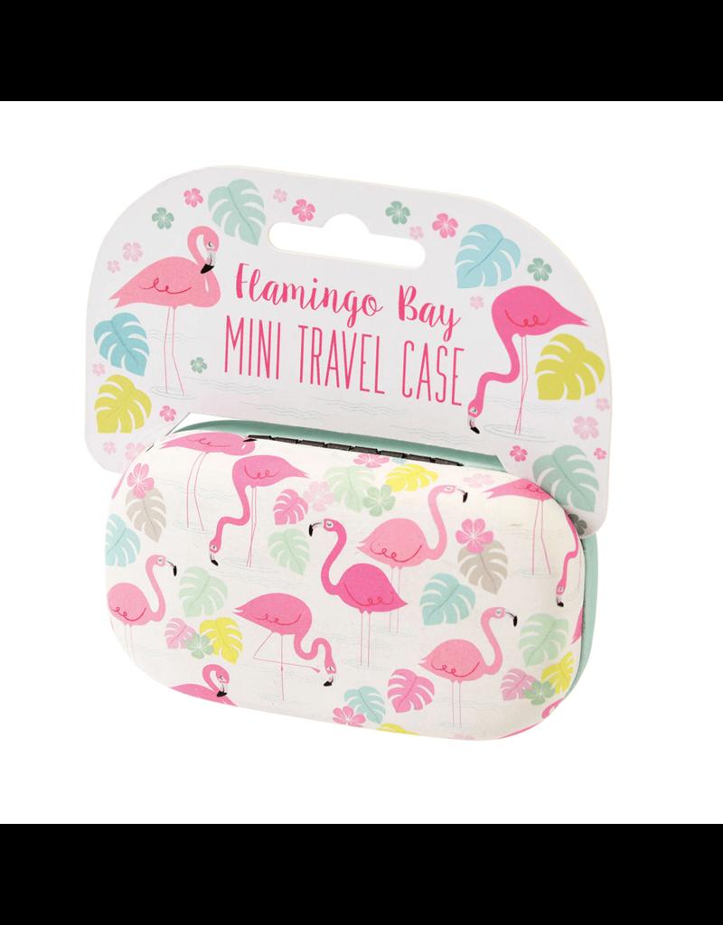 Rex London Mini travel case- Flamingo Bay