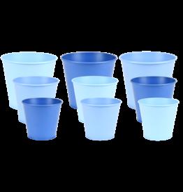 Esschert Design Bloempot - Blauwtinten