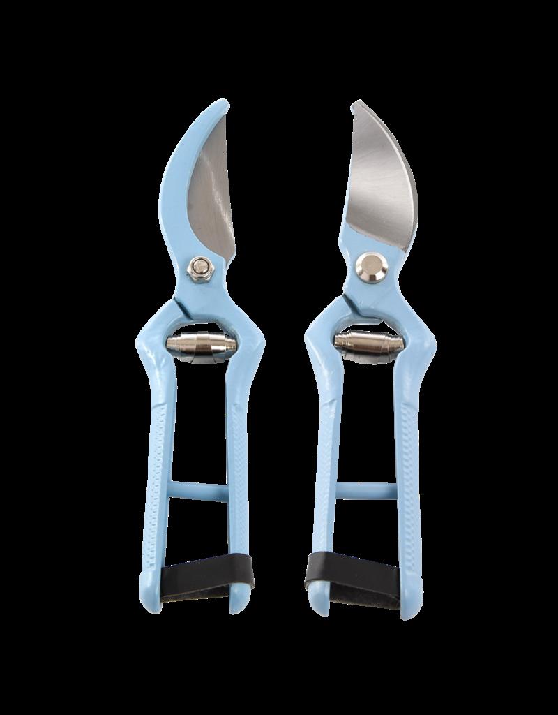 Esschert Design Snoeischaar - RVS - Blauw 2 kleuren