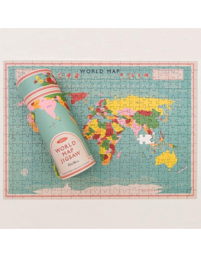 Rex London Puzzle - Wereldkaart
