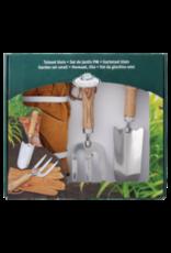 Esschert Design RVS gereedschapsset in cadeauverpakking