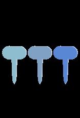 Esschert Design Plantenstekers in - set/6 -Blauwtinten