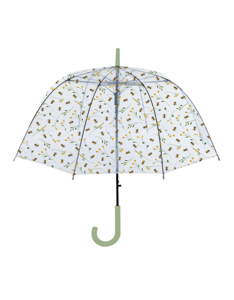 Esschert Design Paraplu - Transparant - Bijen