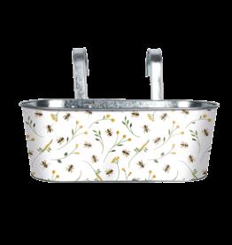 Esschert Design Balkonbak met haak - bijenprint