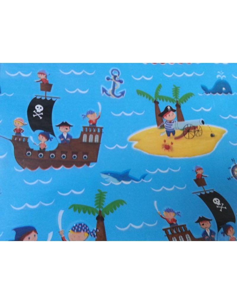 Dotcomgiftshop Lunchtasje - Piraat blauw