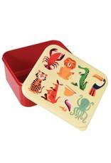 Rex London Lunchtrommel - Colourful Creatures
