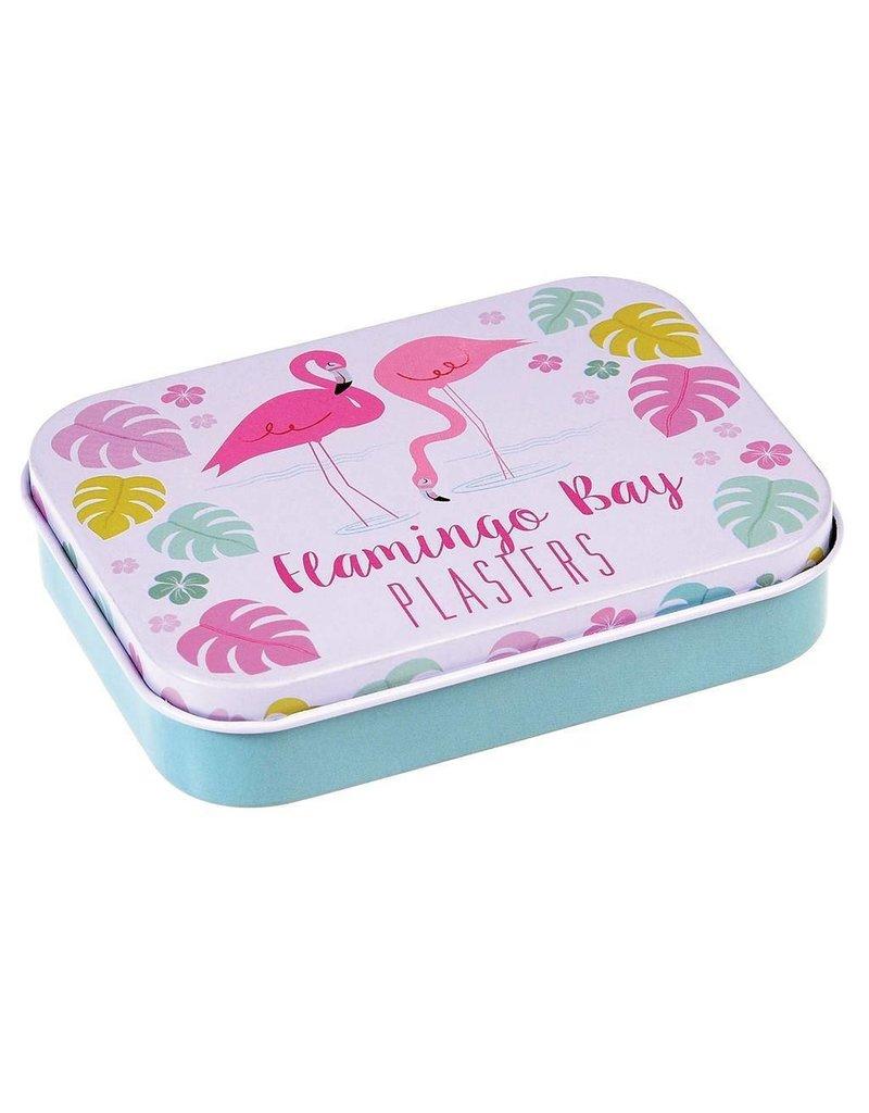 Rex London Pleisters in blikje - Flamingo Bay