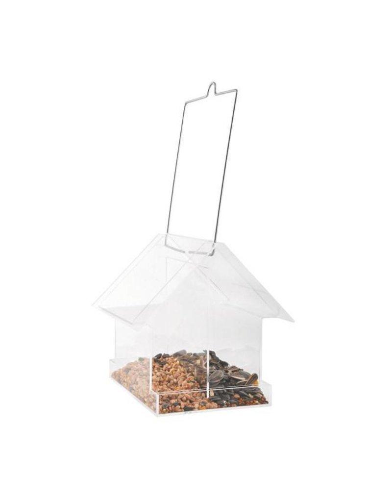 Esschert Design Acryl hangende combivoedersilo - Huis