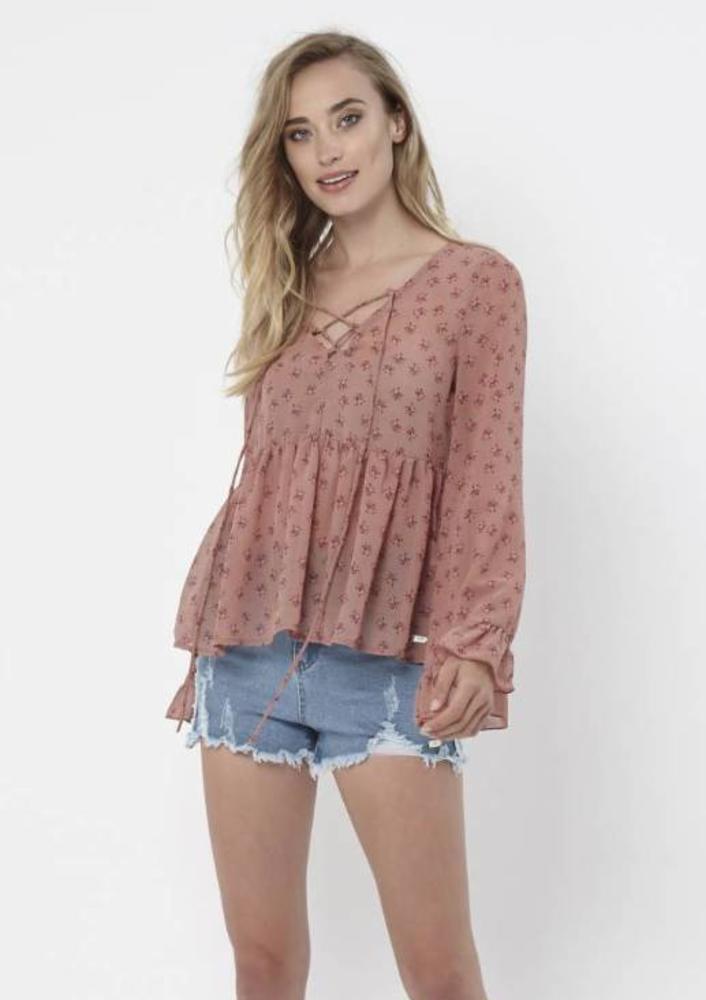 blouse naeva roze