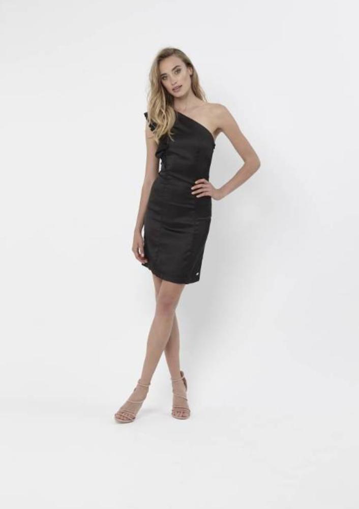 jurk brandy zwart
